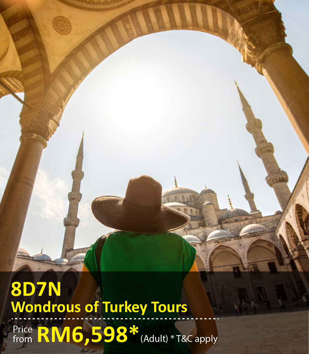 UOB Special Promo Package: 8 Days 7 Nights Turkey Tours
