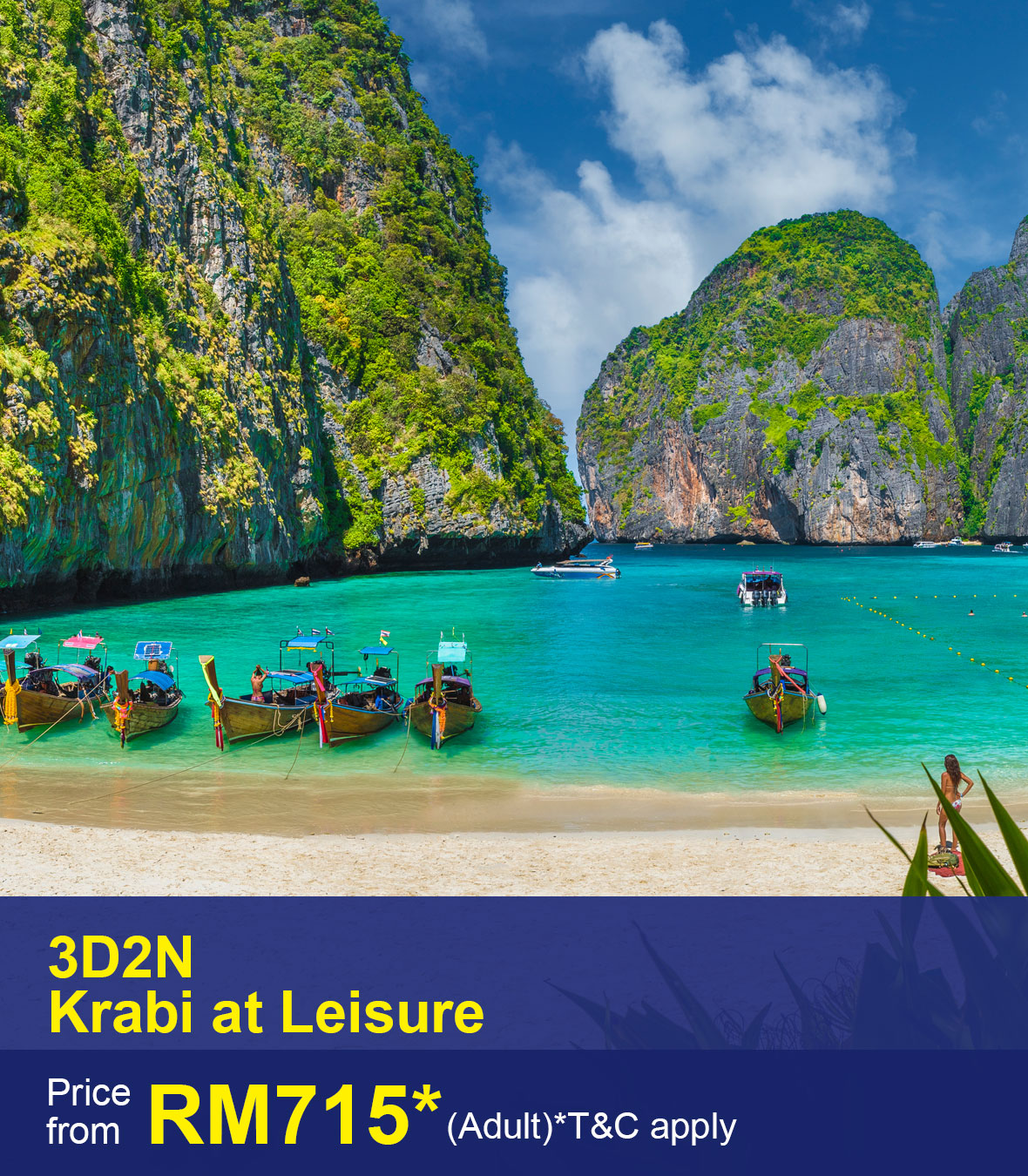 UOB-3D2N Krabi at Leisure