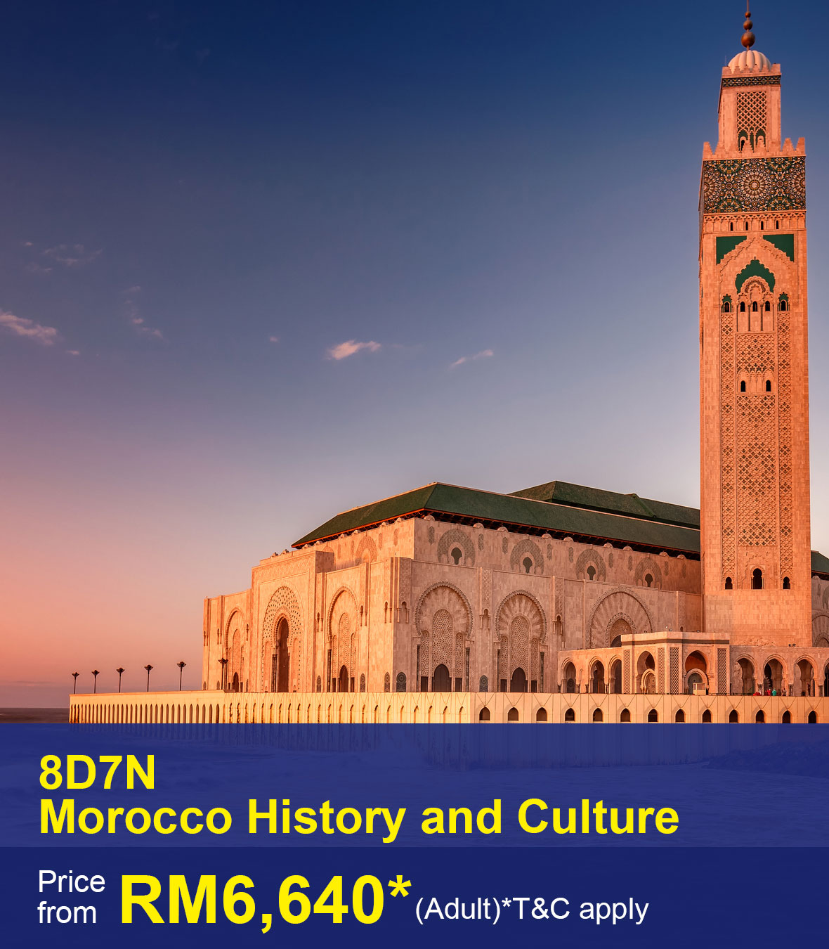 UOB-8D7N Morocco History and Culture